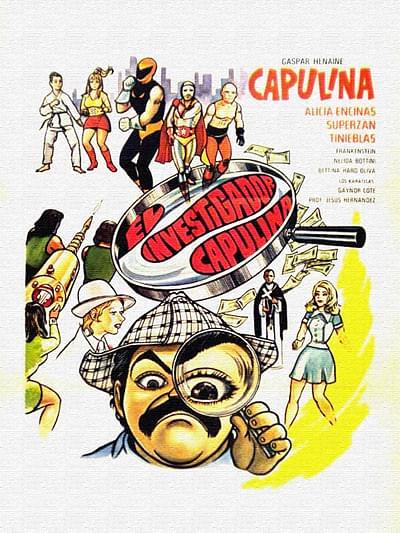 El investigador Capulina