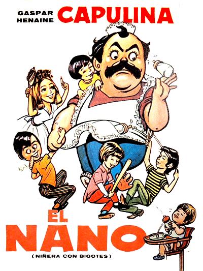El nano: niñera con bigotes