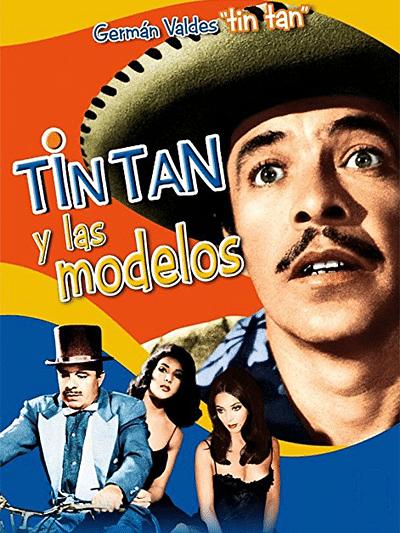 Tin Tan y las modelos (Escuela de modelos)